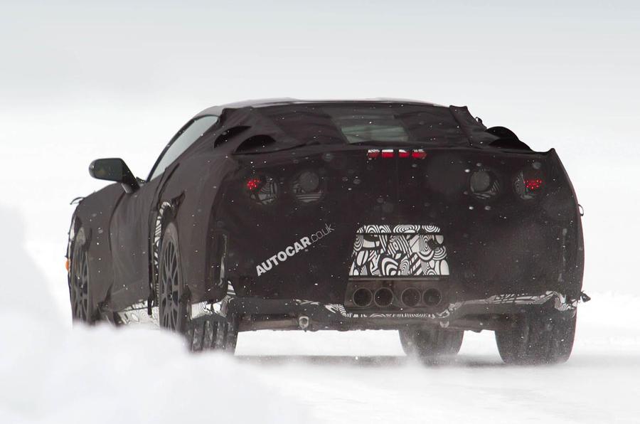 Spy pictures: new Corvette C7