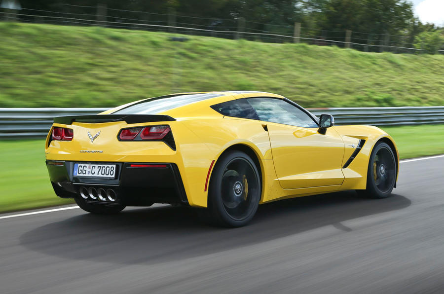 Chevrolet Corvette C7 Stingray; Chevrolet Corvette C7 Stingray Rear ...