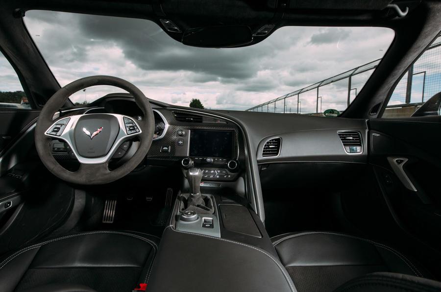 Chevrolet Corvette C7 Interior Autocar