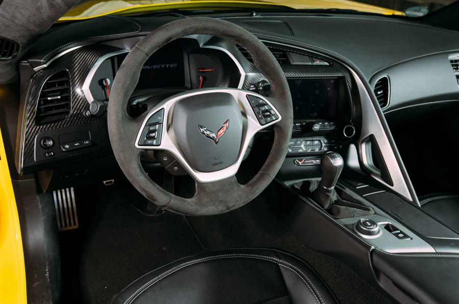 Corvette C7 Stingray dashboard
