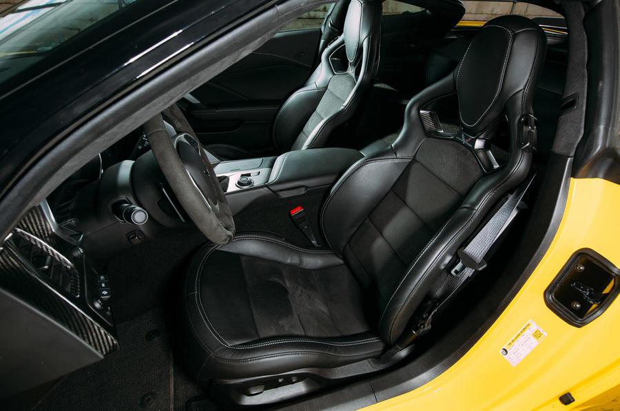 Corvette C7 Stingray sport seats