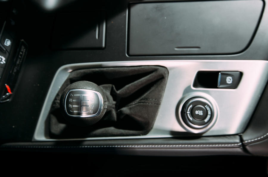 Corvette C7 Stingray gearstick