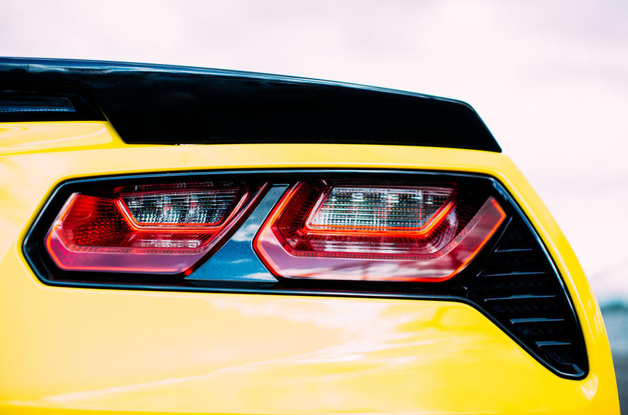 Chevrolet Corvette C7 Stingray taillights