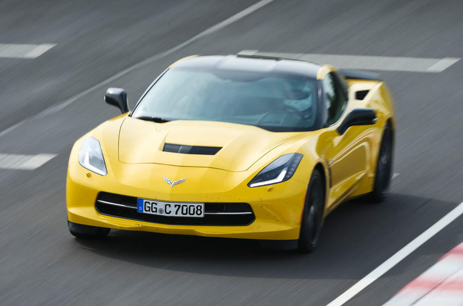 460bhp Chevrolet Corvette C7 Stingray