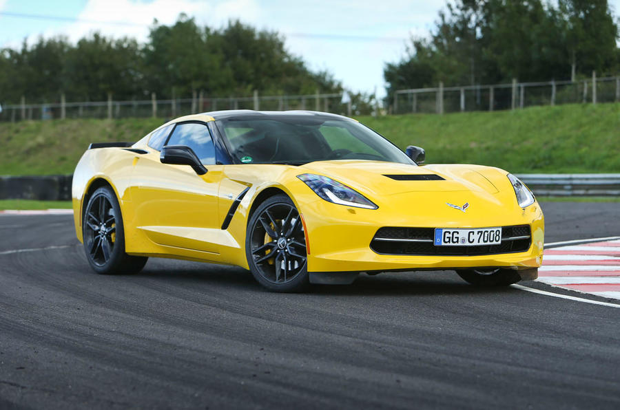 4 star Corvette C7 Stingray