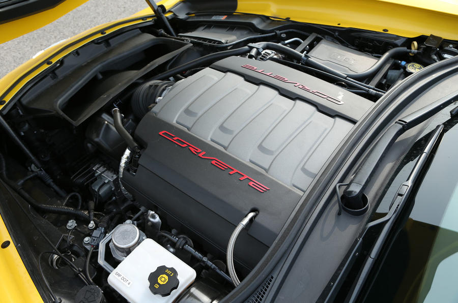 Corvette C7 Stingray 6.2-litre engine