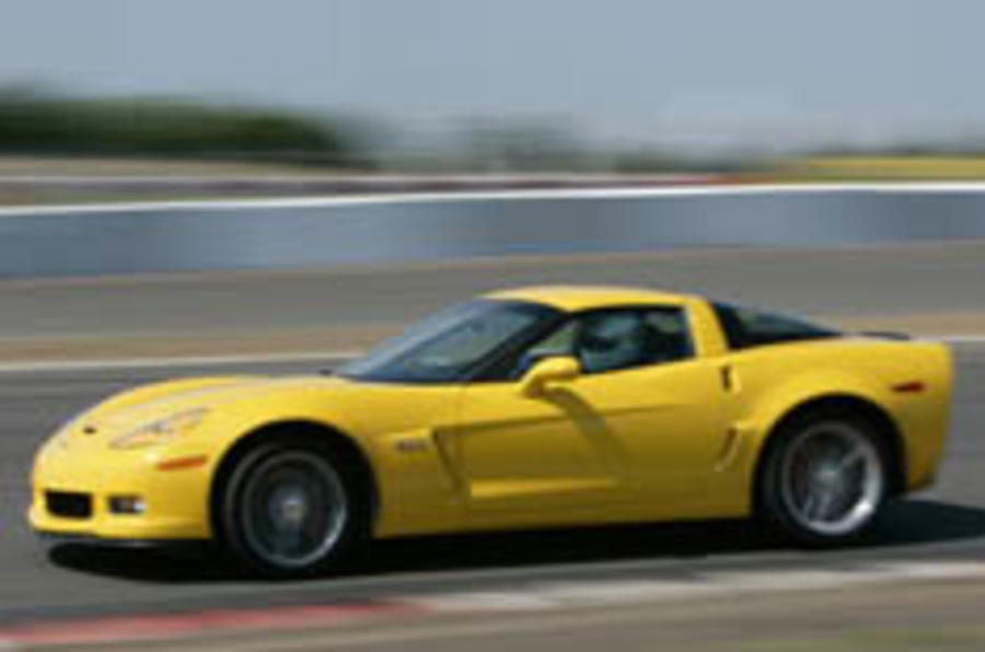 'Vette Z06 revs in; Ford GT bows out