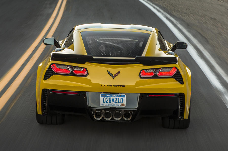 The 650bhp Chevrolet Corvette Z06