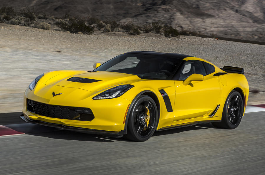 4 star Chevrolet Corvette Z06