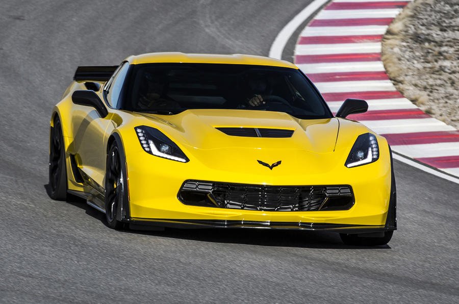 The Chevrolet Corvette Z06 cracks 0-62mph in 3.1sec