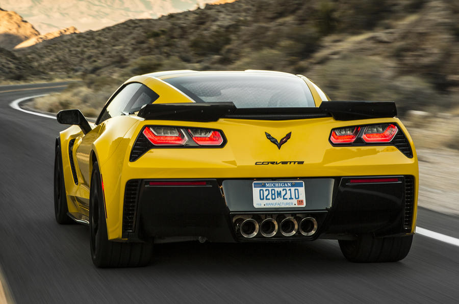 Chevrolet Corvette Z06 rear