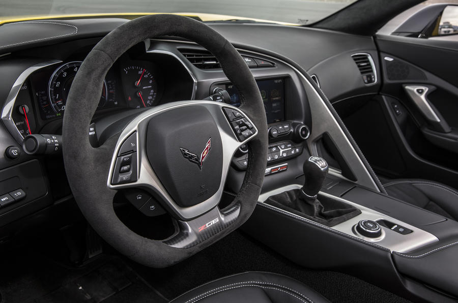 Chevrolet Corvette Z06 interior