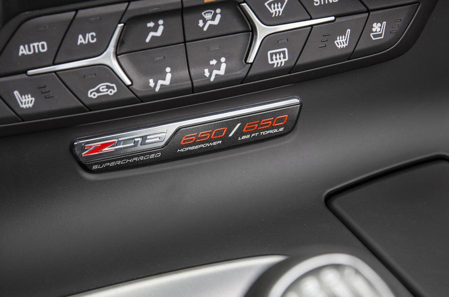Chevrolet Corvette Z06 badging