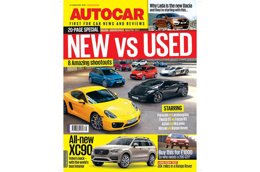 Autocar magazine 27 August preview
