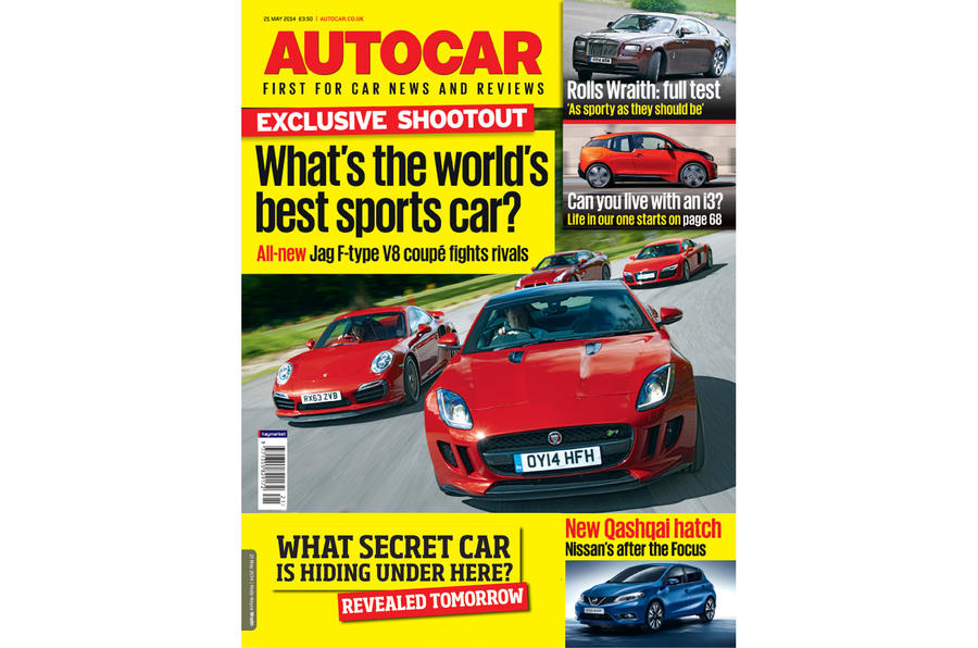 Autocar magazine 21 May preview