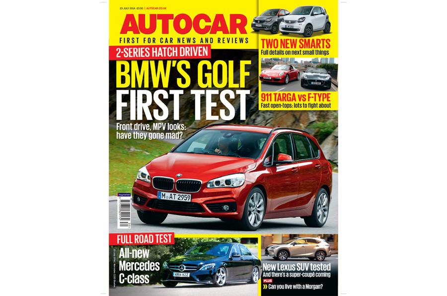 Autocar magazine 23 July preview