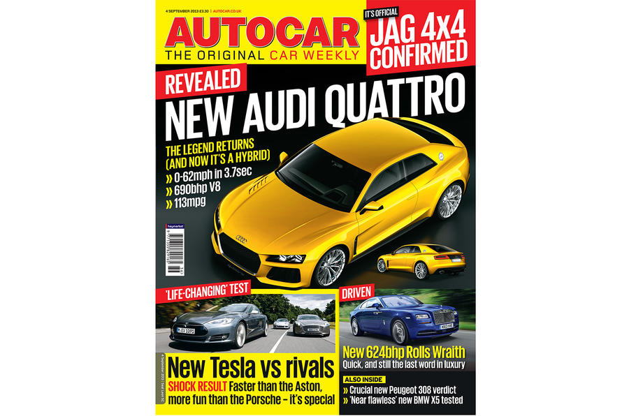 Autocar magazine 4 September preview
