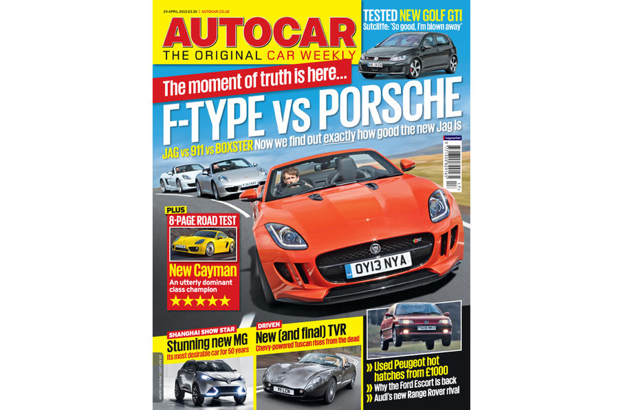 Autocar magazine 24 April preview