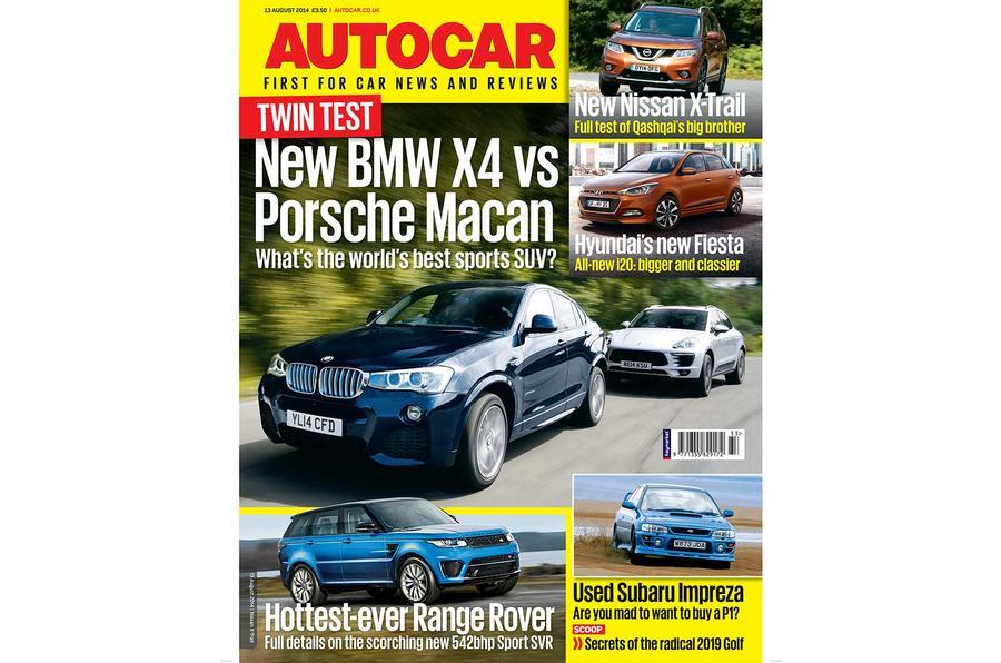 Autocar magazine 13 August preview