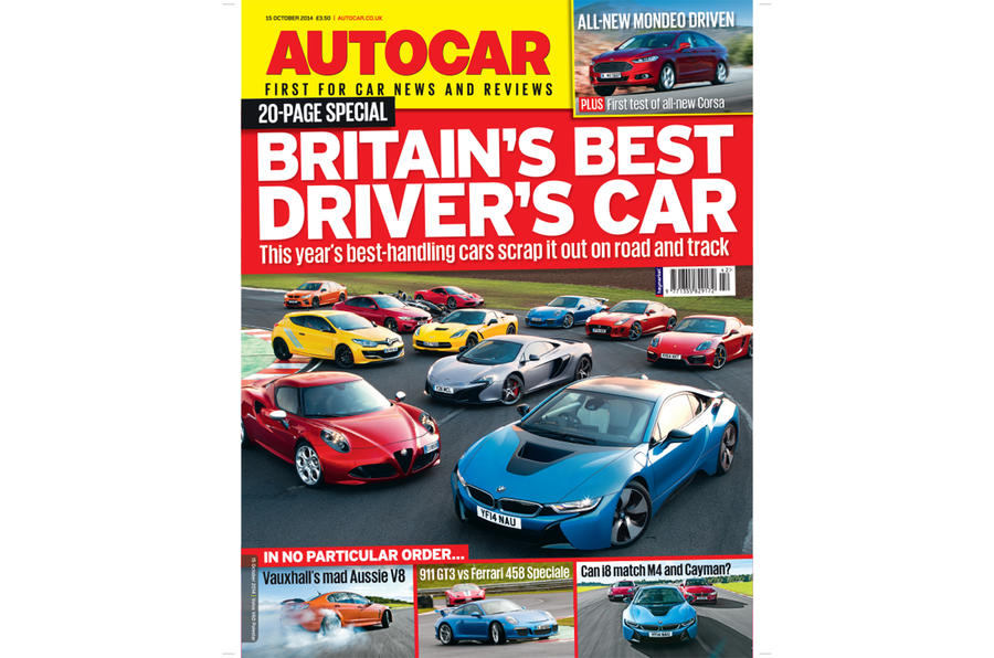 Autocar magazine 15 October preview