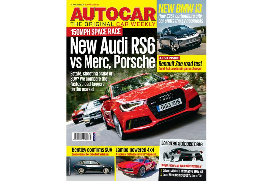 Autocar magazine 31 July preview