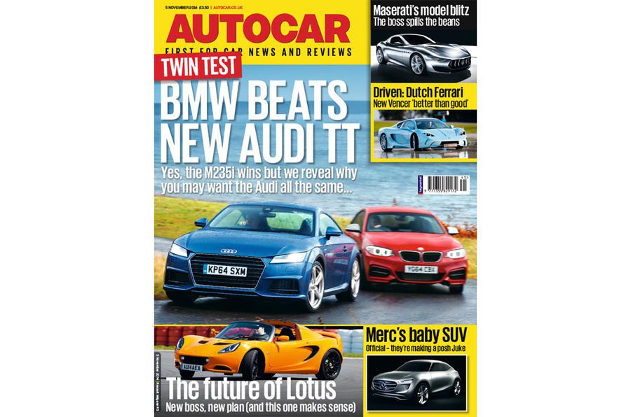 Autocar magazine 5 November preview