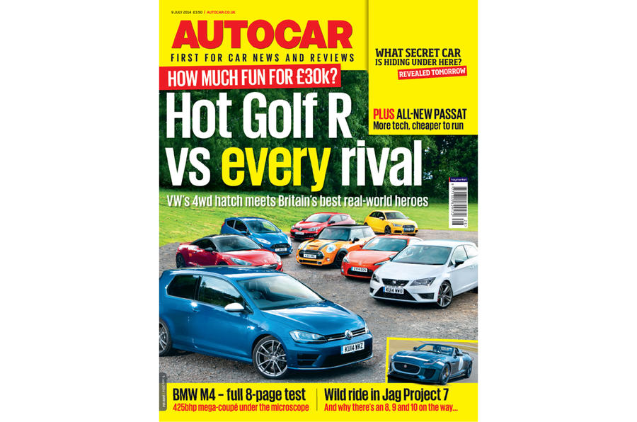 Autocar magazine 9 July preview