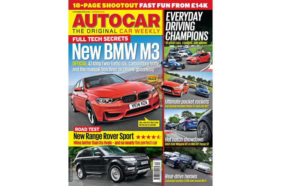 Autocar magazine 2 October preview