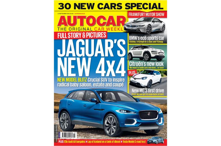 Autocar magazine 11 September preview