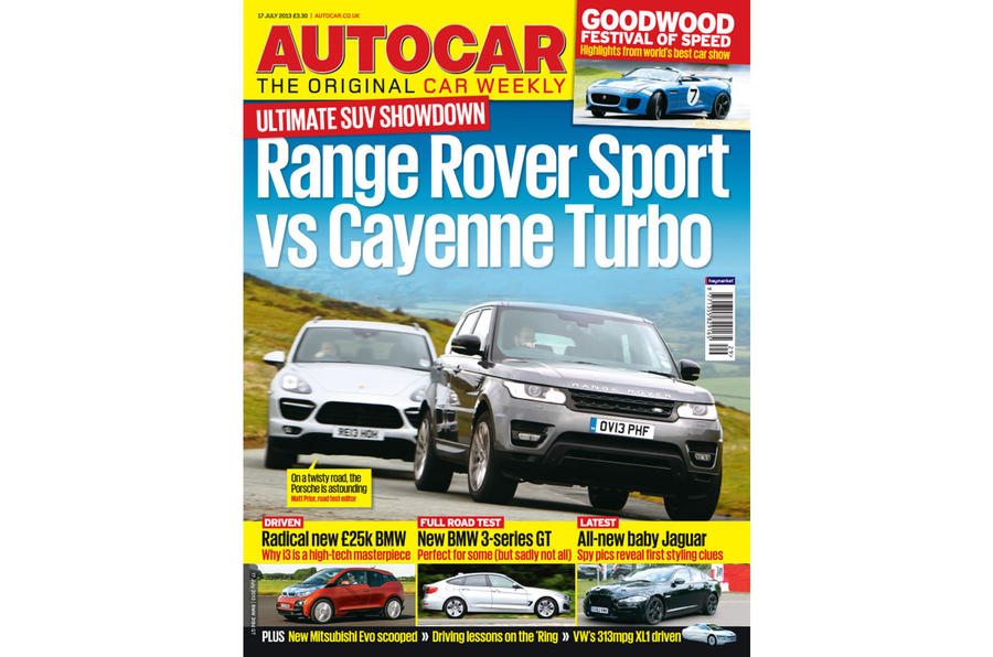 Autocar magazine 17 July preview