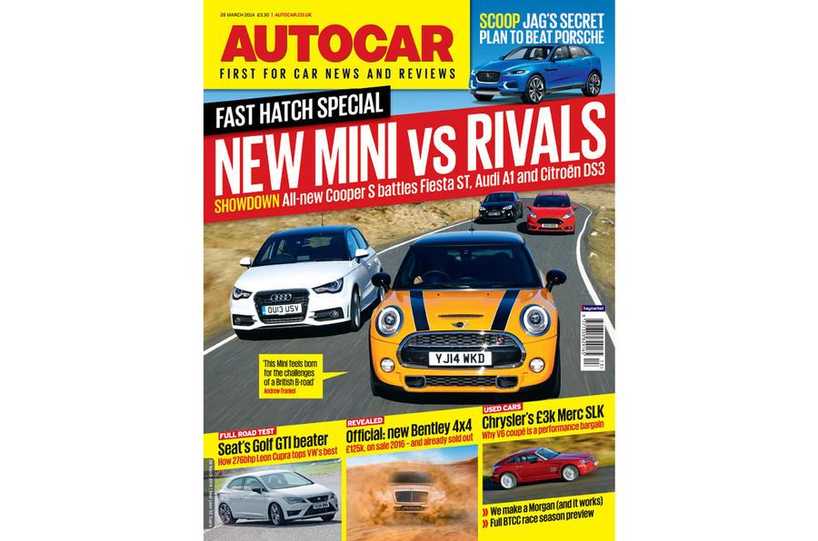 Autocar magazine 26 March preview