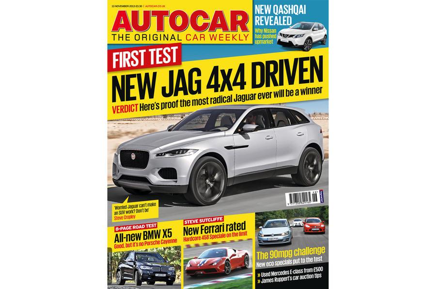 Autocar magazine 13 November preview