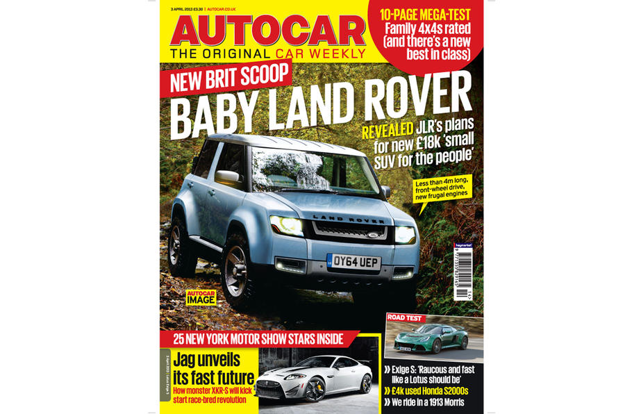 Autocar magazine 3 April preview