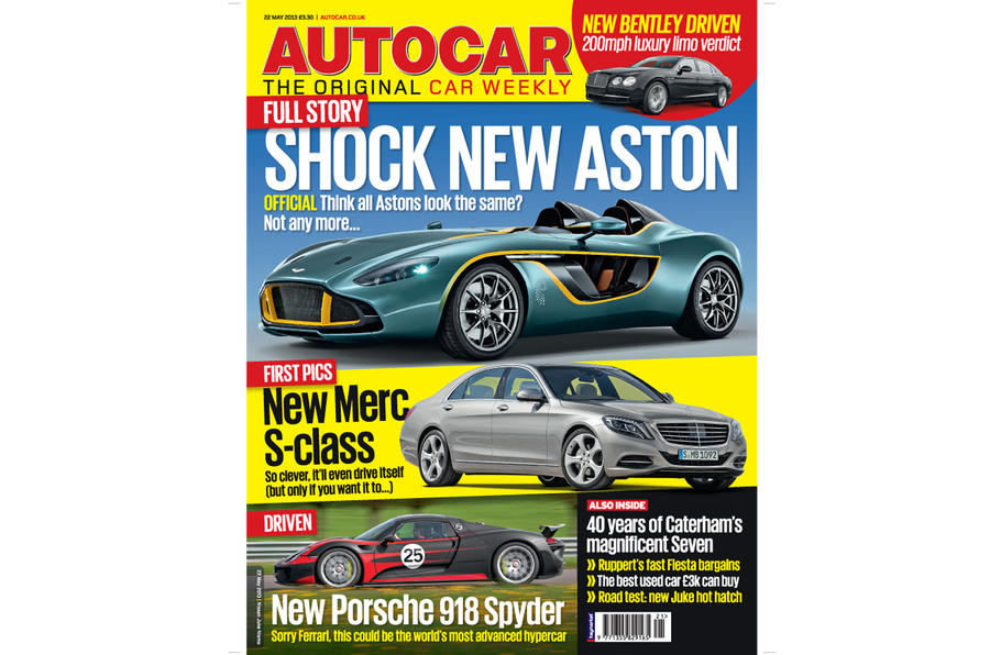 Autocar magazine 22 May preview