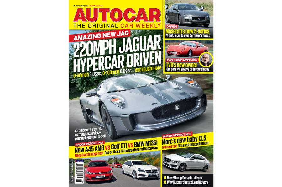 Autocar magazine 26 June preview