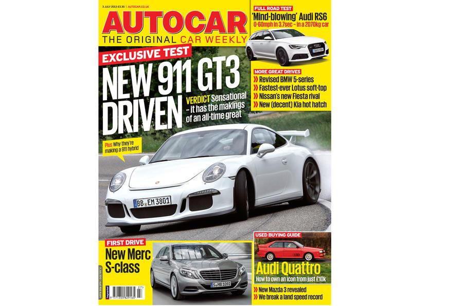 Autocar magazine 3 July preview