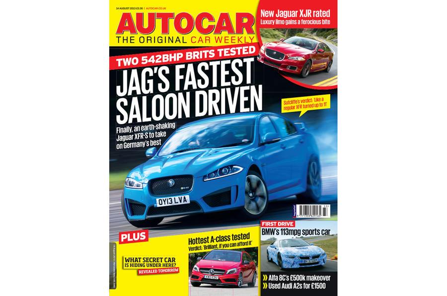 Autocar magazine 14 August preview