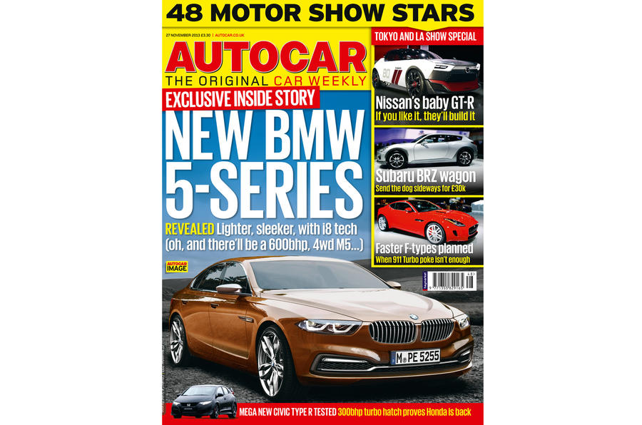 Autocar magazine November 27