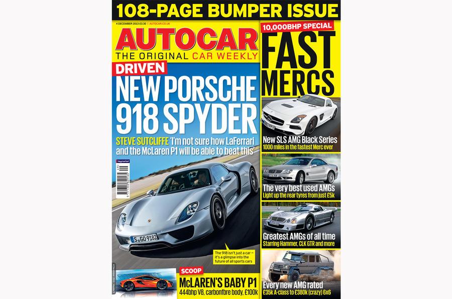 Autocar magazine 4 December preview