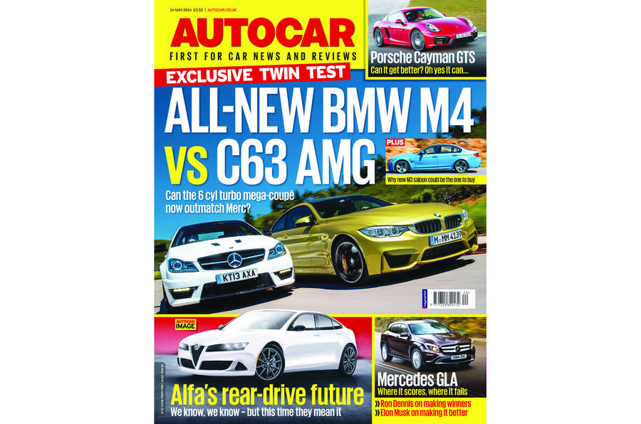 Autocar magazine 14 May preview