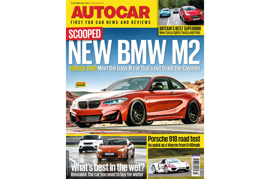 Autocar magazine 22 October preview