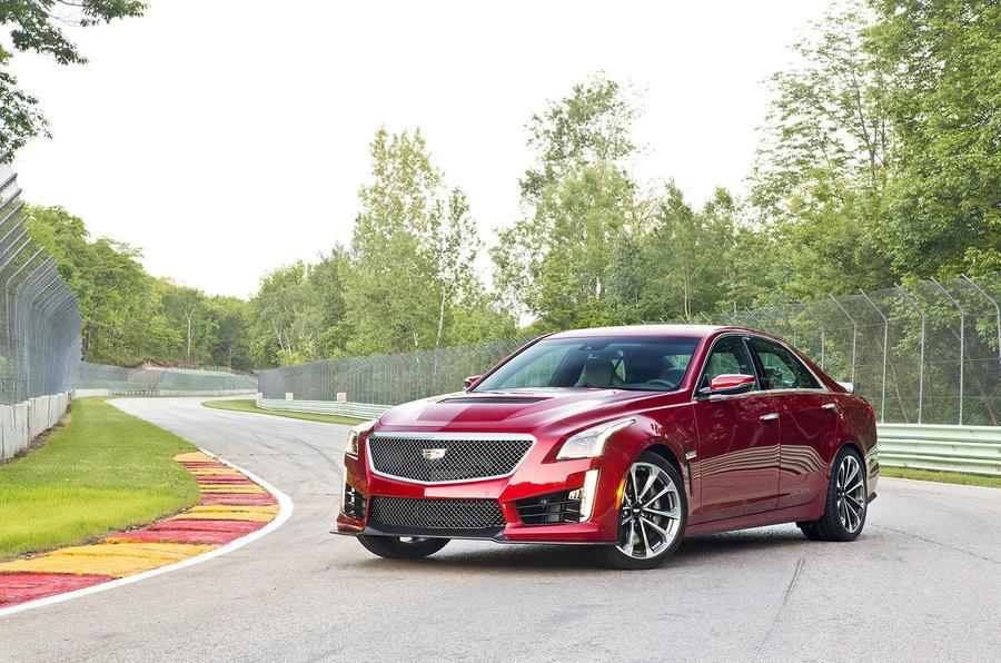 Cadillac CTS-V front quarter