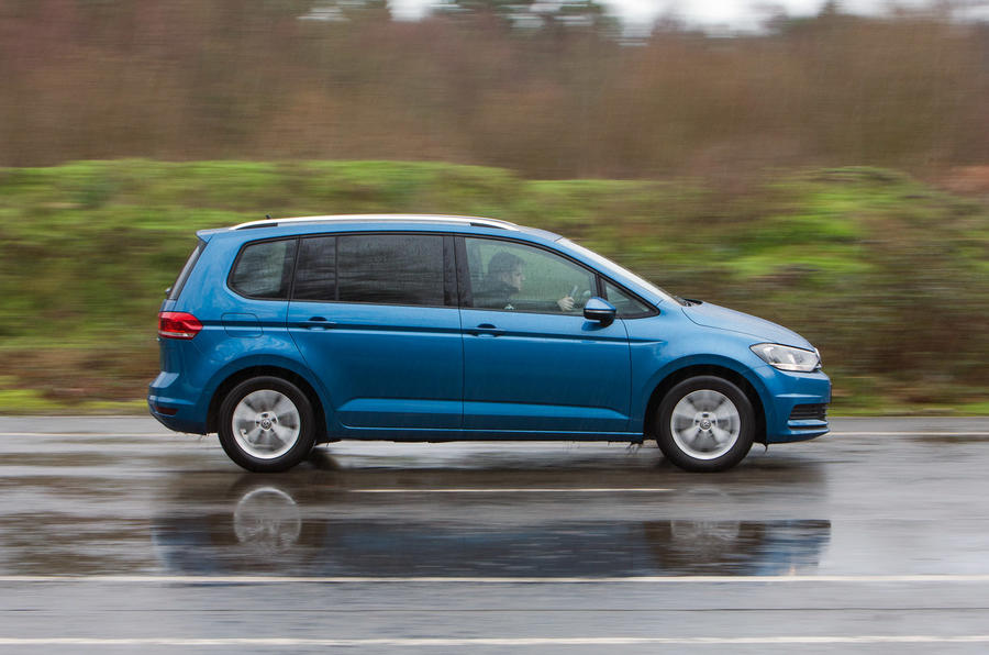 The 148bhp Volkswagen Touran