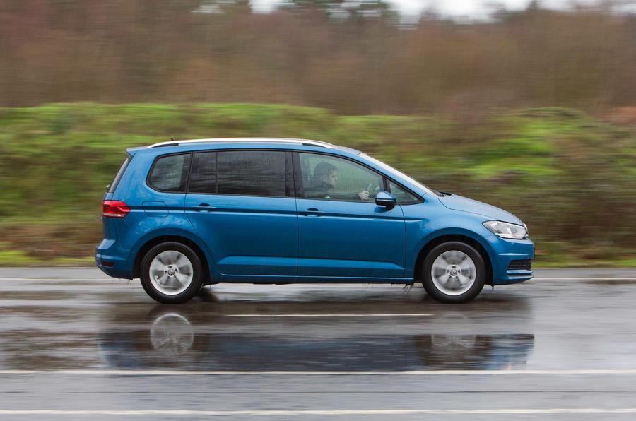 The 148bhp Volkswagen Touran
