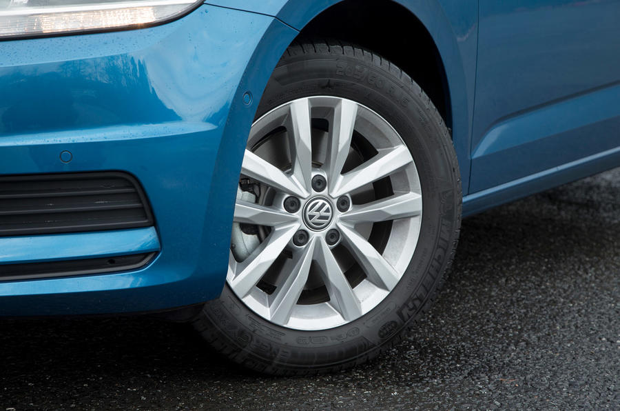 16in Volkswagen Touran alloys