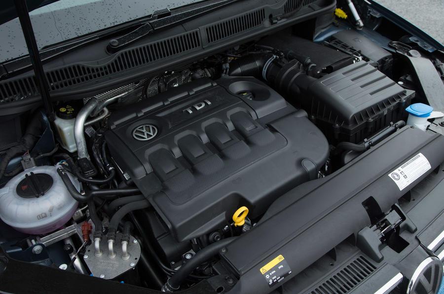 Volkswagen Touran 2.0-litre diesel engine