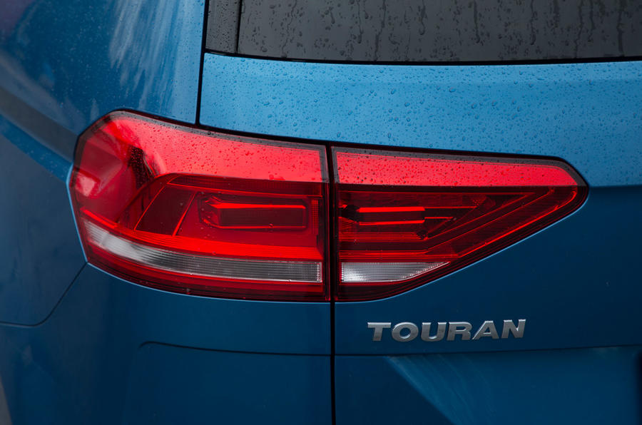 Rear Volkswagen Touran lights