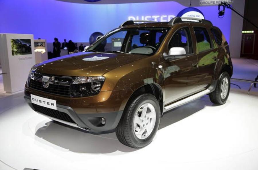 Dacia confirms UK launch in 2012