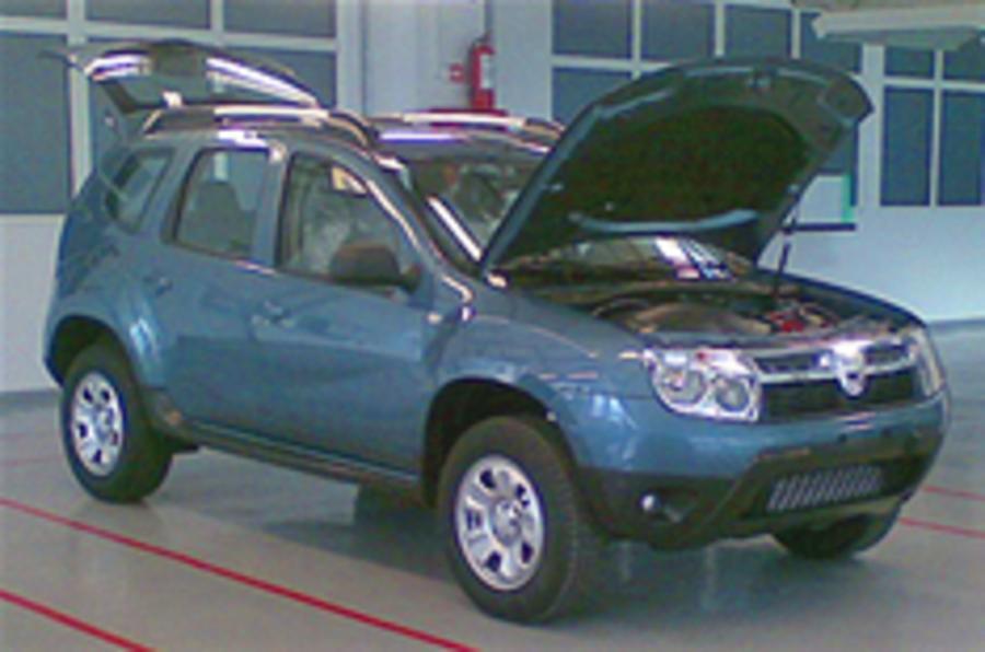 Dacia's new crossover spied