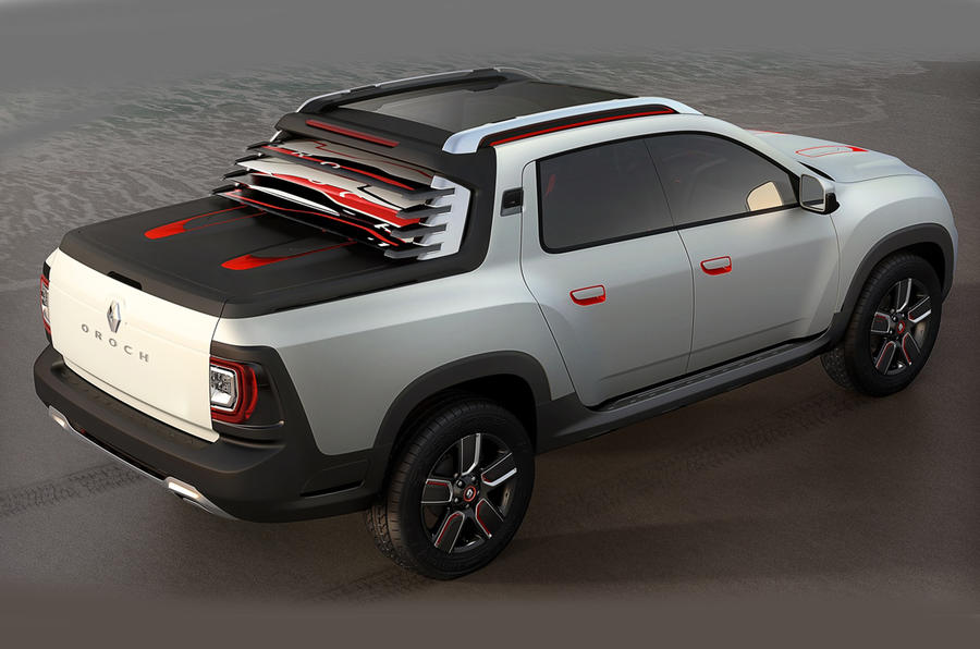 New Duster Oroch concept set for Sao Paulo motor show debut